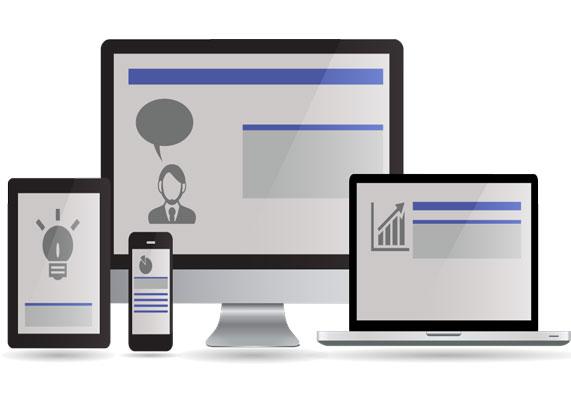 Criação de sites e blogs responsivos