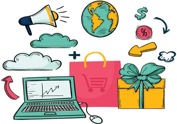 Ao criar loja virtual você pode vender para qualquer lugar